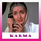 Aye Mohabbat Teri Daastan - Karma - Anuradha Paudwal - 1986