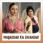 Rote Hue Aate Hain - Muqaddar Ka Sikandar - Kishore Kumar - 1978